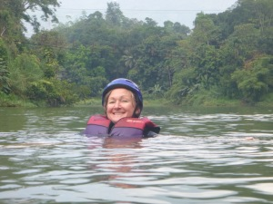 Raftless in the river