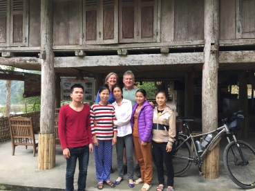 Homestay welcoming, open one year and again, no English, at all.