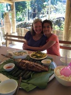 Nhem's fish lunch