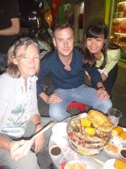 Best meal in Hanoi. Thanks Simon and Ha.