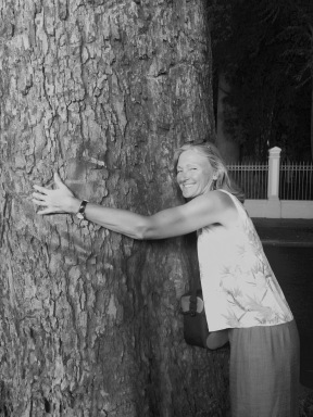Lets all hug trees. It's good for us.