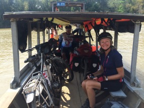 "Ferry, with our new guide, ""Bobby"" (Treng)."