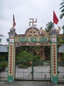 Buddhist use of a familiar emblem.